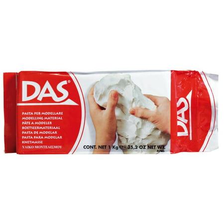 Prang® DAS® Air Hardening Modeling Clay, 2 lb., White, Set of 2