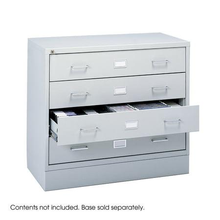 (Safco 4935LG Media Storage Audio Video Microform Cabinet)