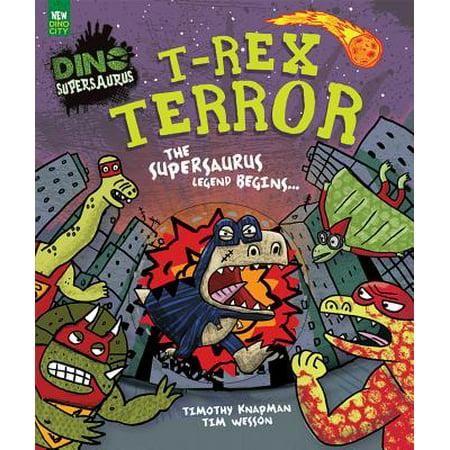 T-rex Dinosaur Facts (T-Rex Terror Picture Book (Dino Supersaurus) )