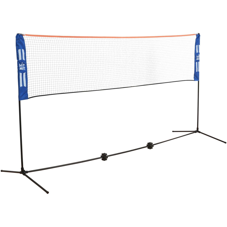 Hit Mit Multi-Sport Adjustable Indoor Outdoor Net Set Great for Hit Mit, Volleyball, Lawn Tennis, Badminton, &... by Hit Mit