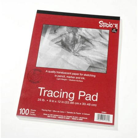 Studio 71 Tracing Paper Pad - 25lb - Medium Surface - 9 x 12 inches