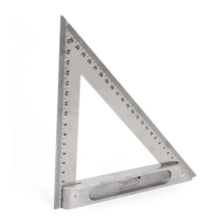 Metric Drawing Scales (Drawing Carpentry 170mm 250mm Double Side Scale Metric Triangle Ruler)