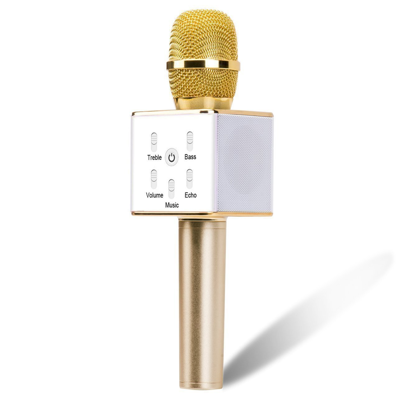Portable Wireless Karaoke Microphone,Built-in Bluetooth Speaker K9 by MYFUN CORP