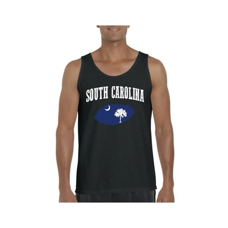Carolina Tank - South Carolina State Flag Men Ultra Cotton Tank Top