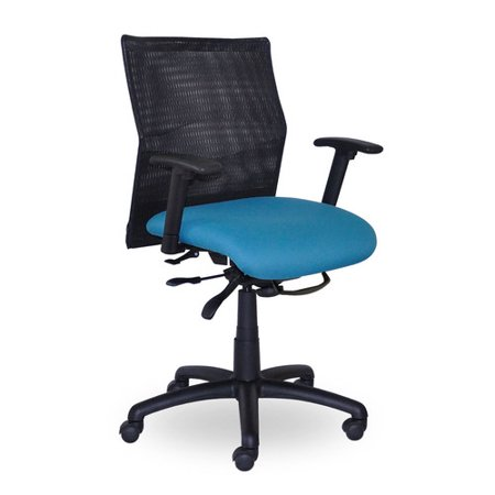 seating inc jay mid back mesh swivel task chair