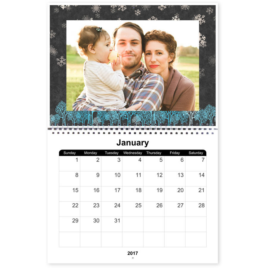 12 Month 8x11 Photo Calendars (Order 3 or more)