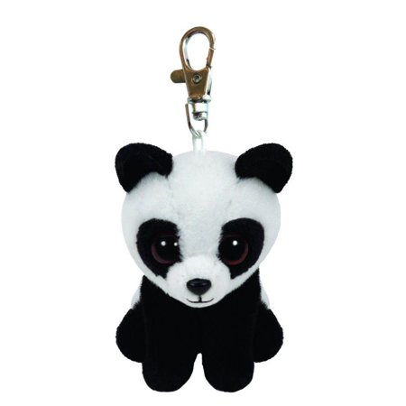 Baboo Panda Beanie Babies Clip 5 inch - Stuffed Animal by Ty (36656) - Ty Animals