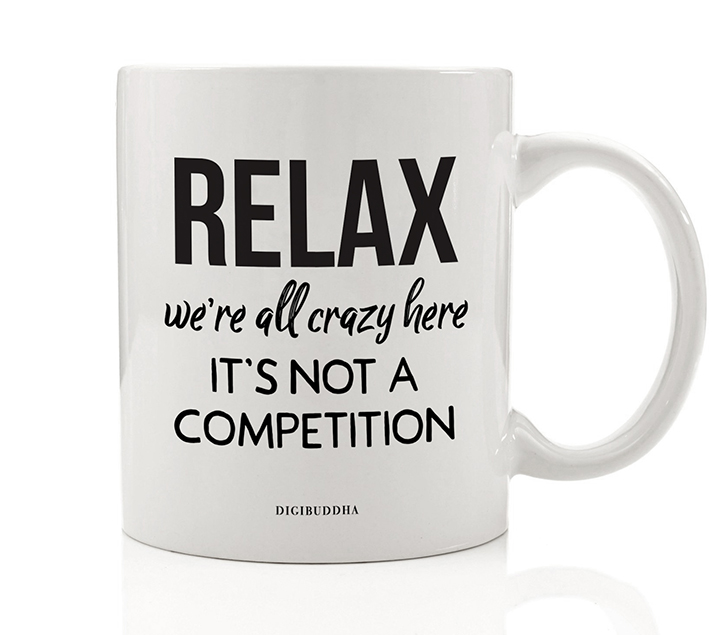 Twisted Dark Humor Coffee Mug Funny Gift Idea for Home or No Cure Job Workplace Sick Sarcasm for Family Member Friend Office Coworker Boss Manager 11oz Ceramic Beverage Tea Cup Digibuddha DM0613
