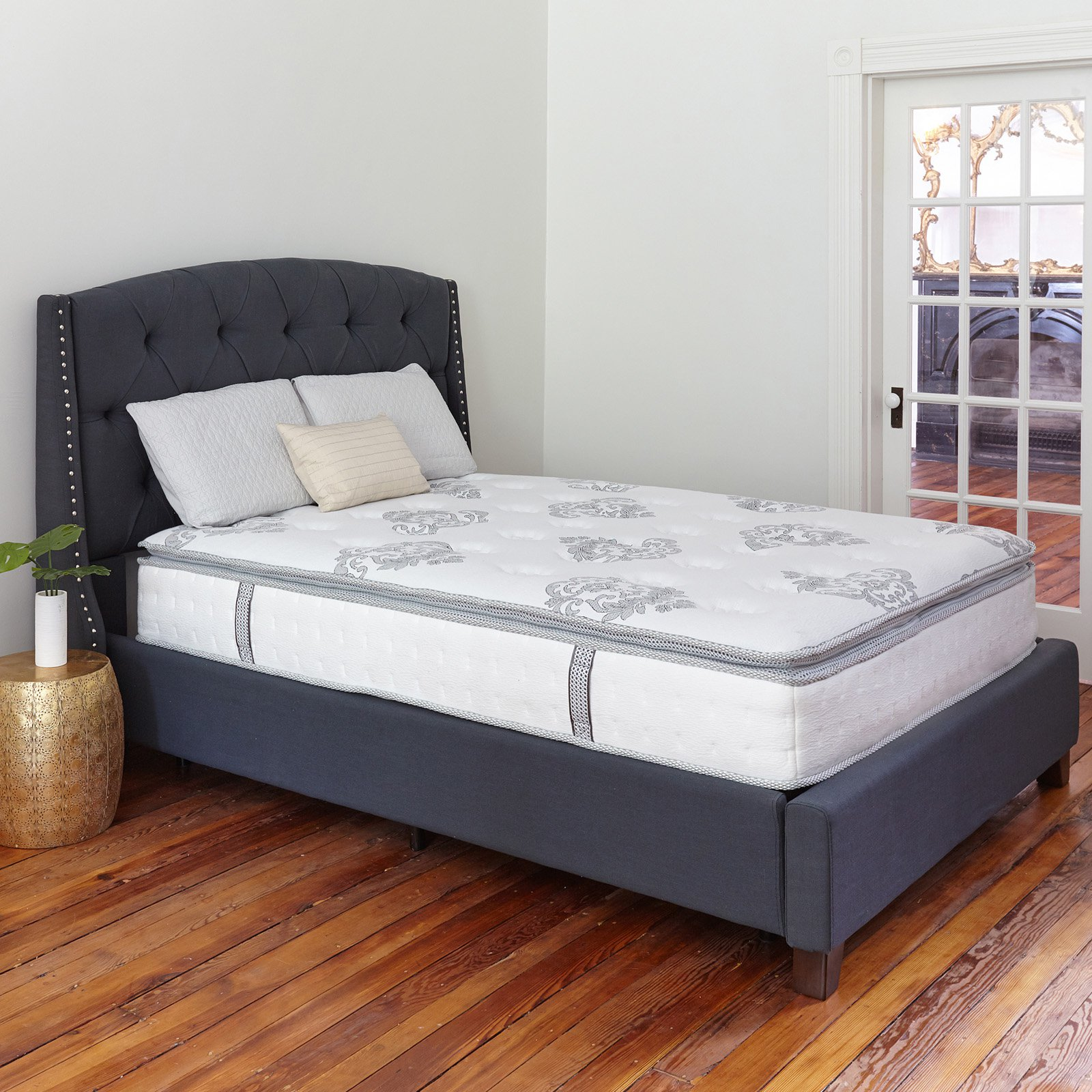 Classic Brands Mercer 12 in. Hybrid Cool Gel Memory Foam and Innerspring Mattress by Classic Brands