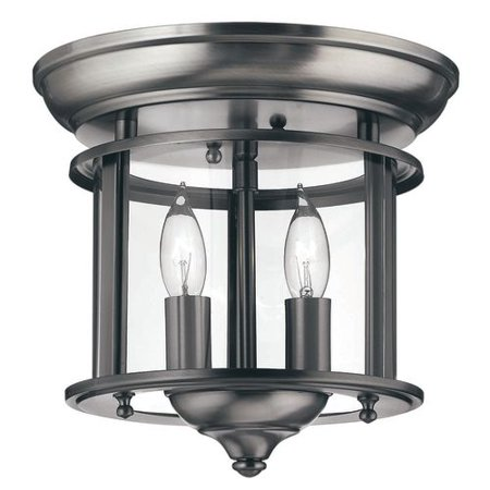 Hinkley Lighting H3472 2 Light Indoor Semi-Flush Ceiling Fixture from the Gentry