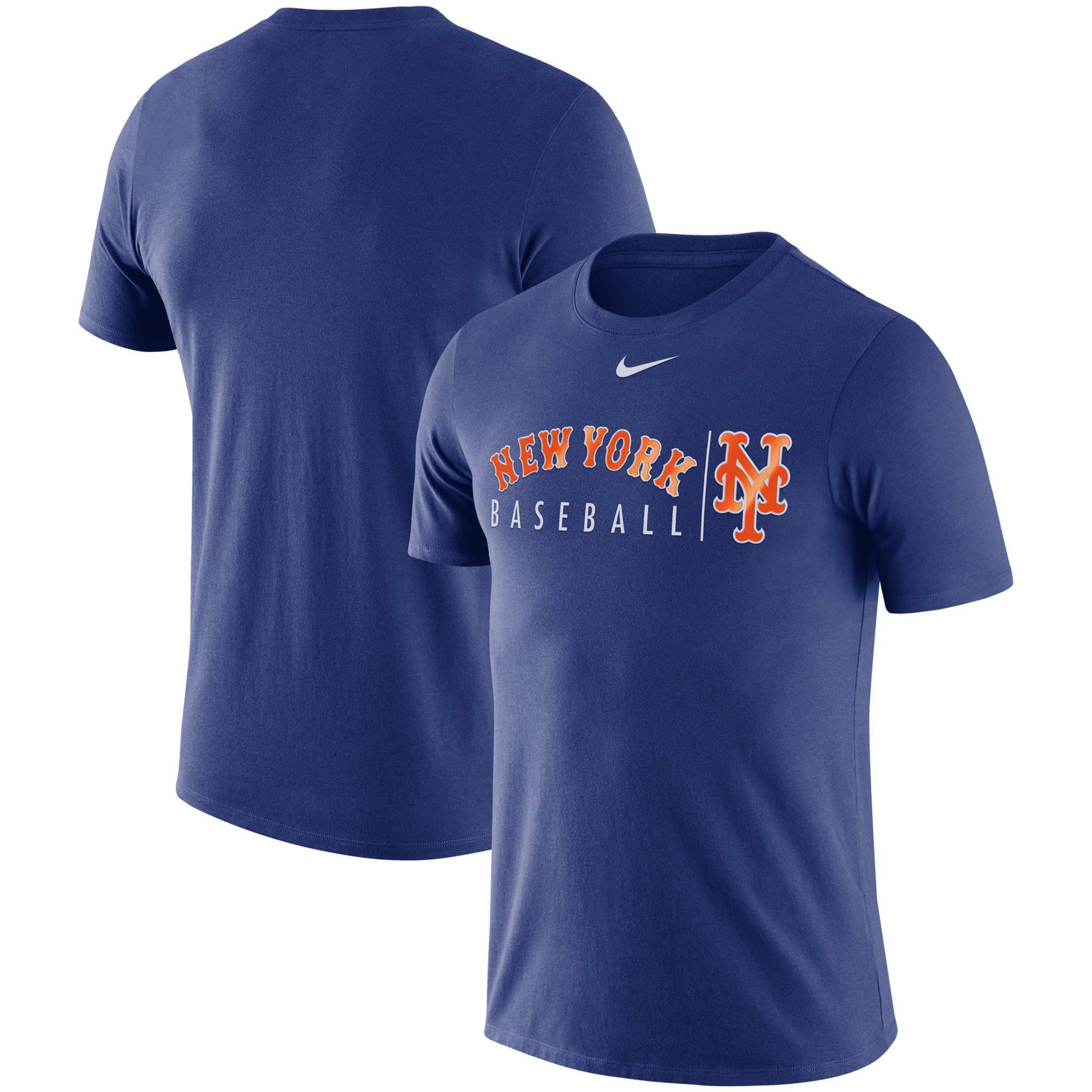 New York Mets Nike MLB Team Logo Practice T-Shirt - Royal