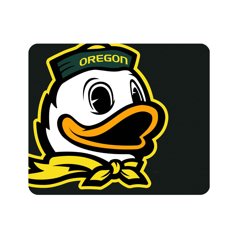 University of Oregon Black Mouse Pad, Cropped V1