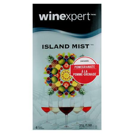 Merlot White Zinfandel Wine - Pomegranate Zinfandel (Island Mist)