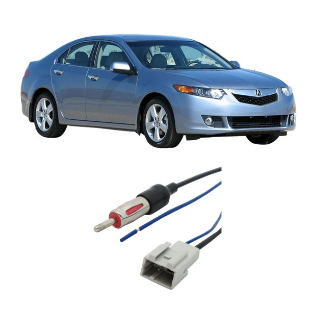Acura TSX 2009-2014 Factory Stereo To Aftermarket Radio