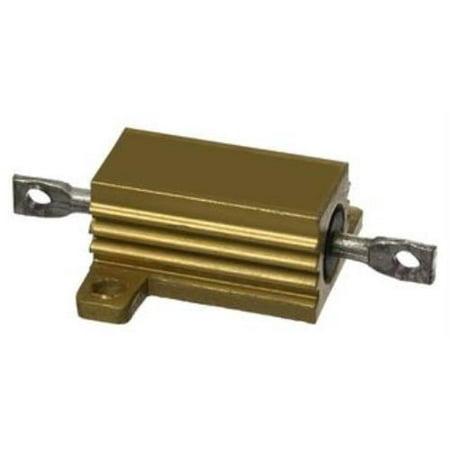 2X New Brand No.64K9777 Ohmite 825F75Re Wirewound Resistor, 75 Ohm, 25W, 1%