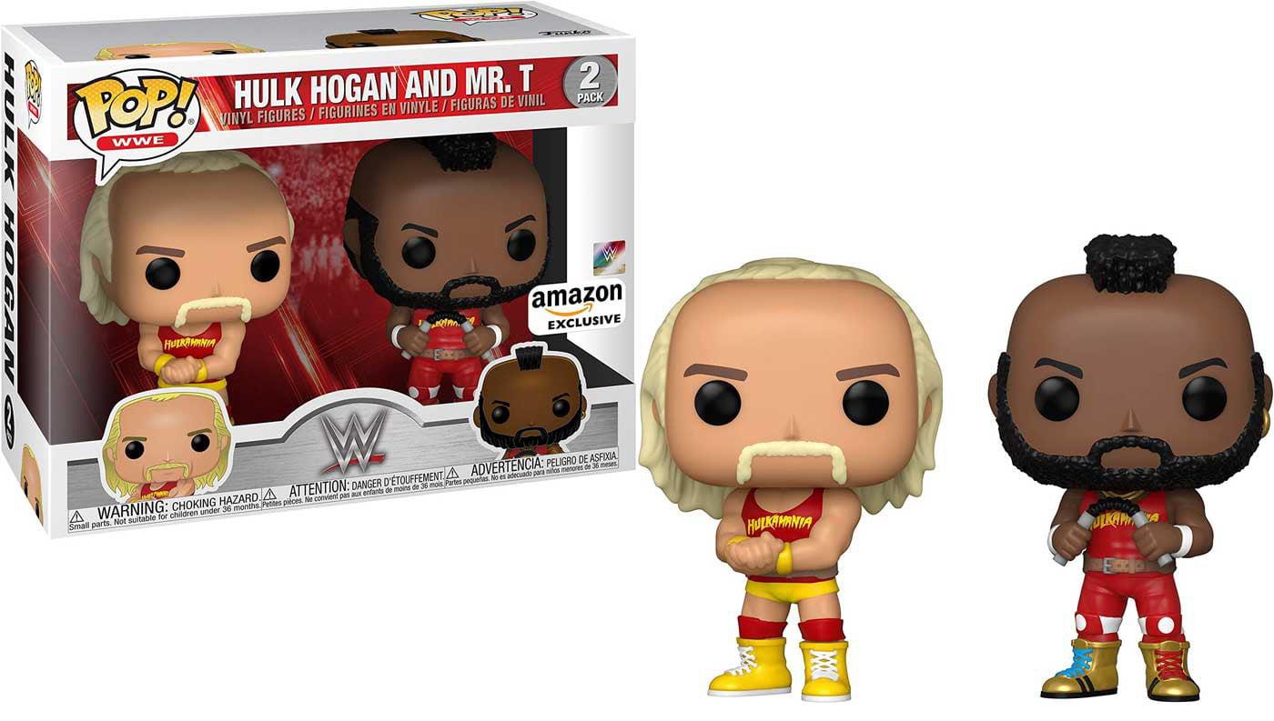 Funko WWE Wrestling POP! Sports Hulk Hogan & Mr. T Vinyl Figure 2-Pack - Walmart.com