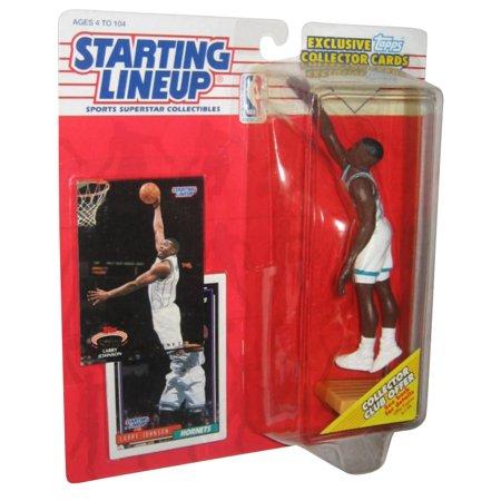 1993 Starting Lineup Figure (NBA Basketball Starting Lineup Larry Johnson Hornets Figure (1993) w/)