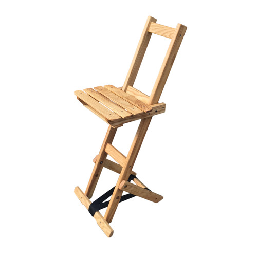 Blue Ridge Chair Works Adjustable Height Bar Stool