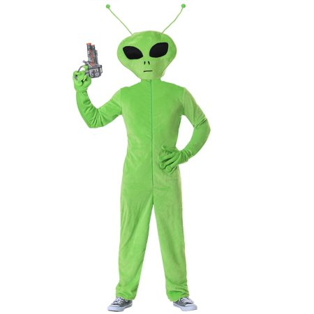 Oversized Alien Adult Costume (Woman Alien Costume)
