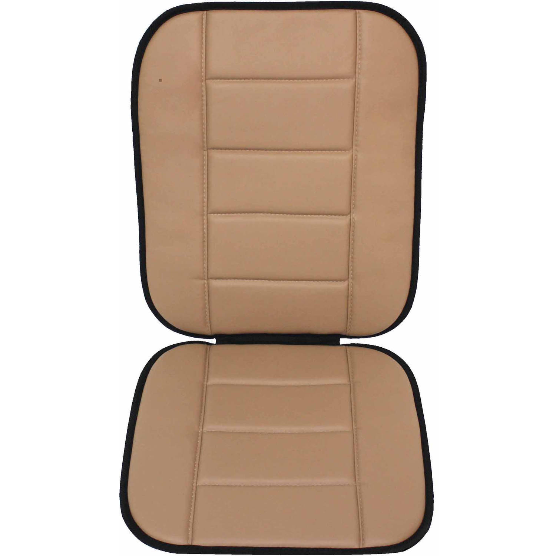 Auto Drive Simulated Leather Full Seat Cushion Walmart Com