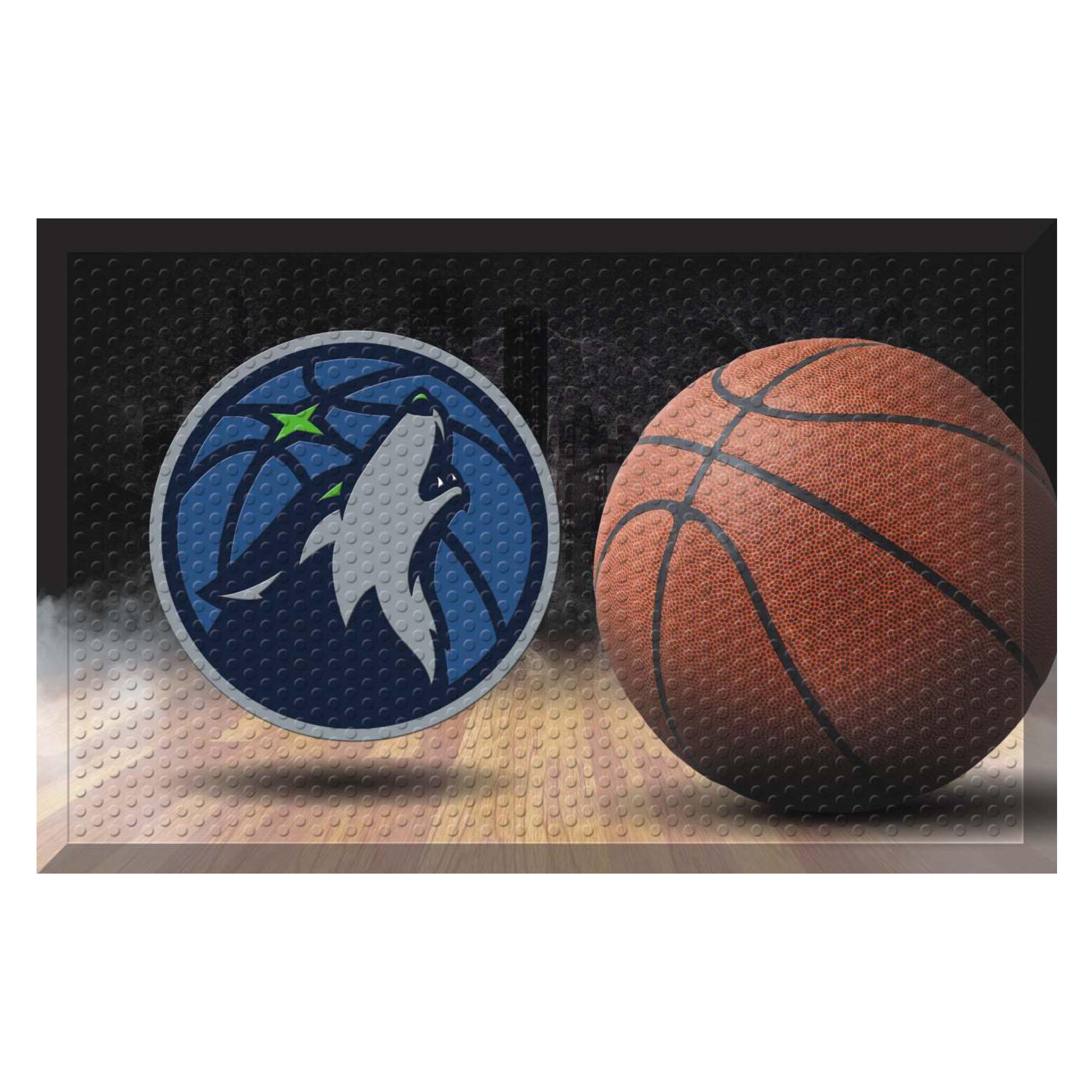 NBA Minnesota Timberwolves Shoe Scraper Door Mat