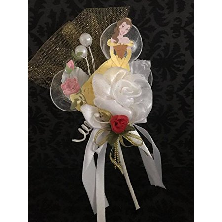 Beauty and The Beast Belle Corsage Favor Gift Keepsake](Grandma To Be Corsage)