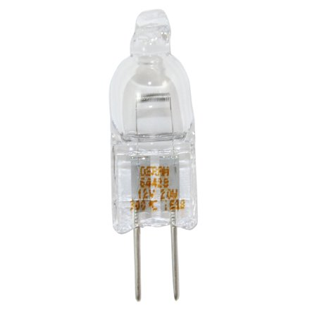 20w Halogen Bi Pin - Osram 64428 20w 12v G4 Bi-Pin Halostar Oven Halogen bulb