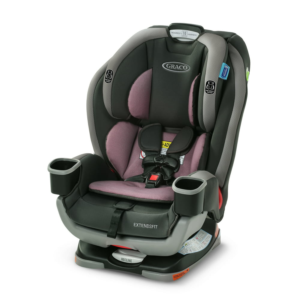 Graco Extend2Fit 3-in-1 Convertible Car Seat, Norah