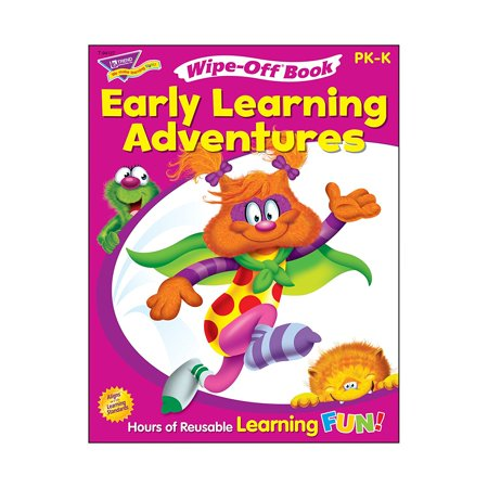 Art And Craft On Halloween For Kindergarten (Get Ready for Kindergarten 1 (Furry FriendsTM) Wipe-Off Book, Reusable color pages feature fun activities for school prep: counting to 10, sequencing,.., By Trend Enterprises)