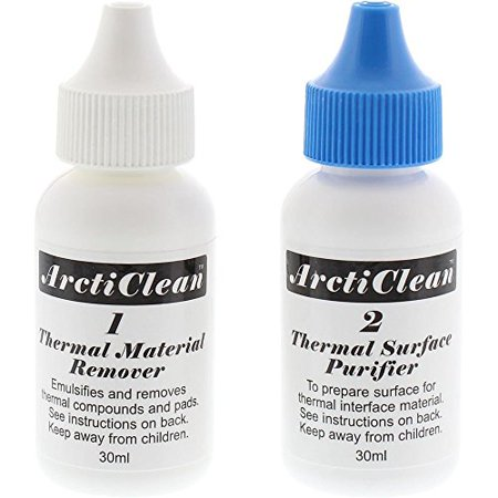 ArctiClean ACN-60ML Set 1 & 2 Thermal Paste Material Remover & Surface