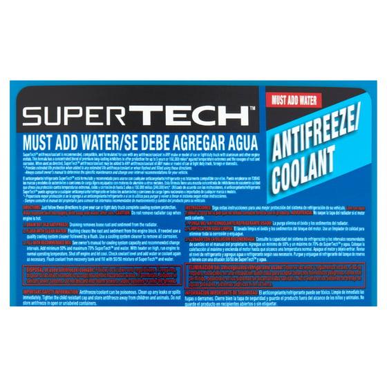 Super Tech Antifreeze / Coolant - Walmart com