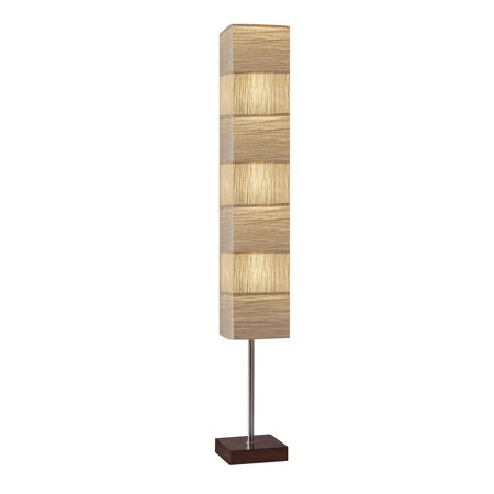 Adesso Sahara Tall Floor Lamp](Rice Paper Lamp)