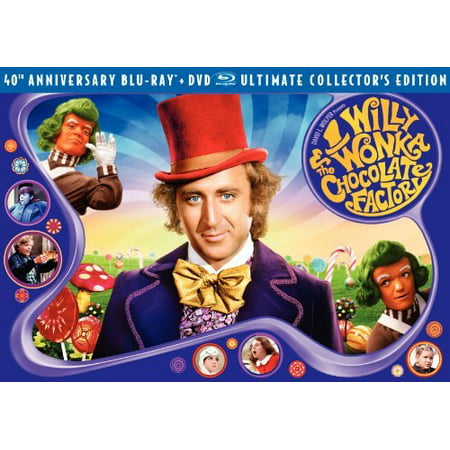 Willy Wonka And The Chocolate Factory: Ultimate Collector's Edition (Blu-ray + DVD)