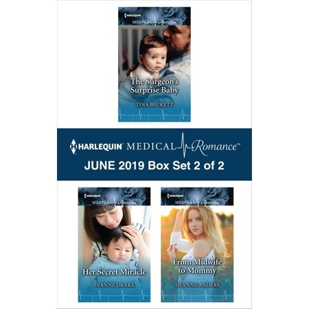 Harlequin Medical Romance June 2019 - Box Set 2 of 2 - (Best Android Box June 2019)
