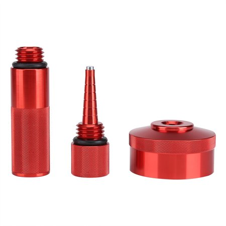 Oil Dipstick Kit (Aluminium Alloy Gas Cap Adapter Oil Change Funnel Magnetic Oil Dipstick for Honda Generator EU2000i EU20i(Complete Combo Kit,)