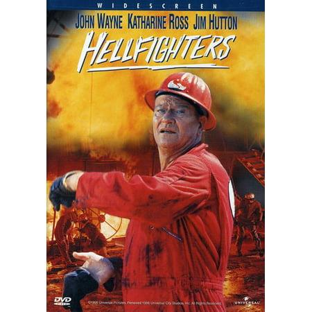 John Wayne  Hellfighters   Dvd