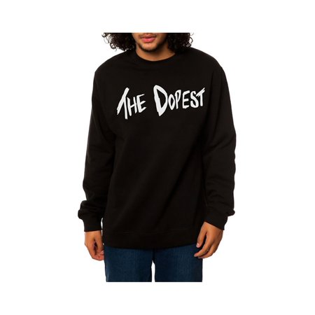 DOPE Mens The Dopest Sweatshirt black L - image 1 of 1