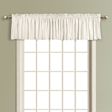 United Curtain Lincoln Lined Curtain Valance