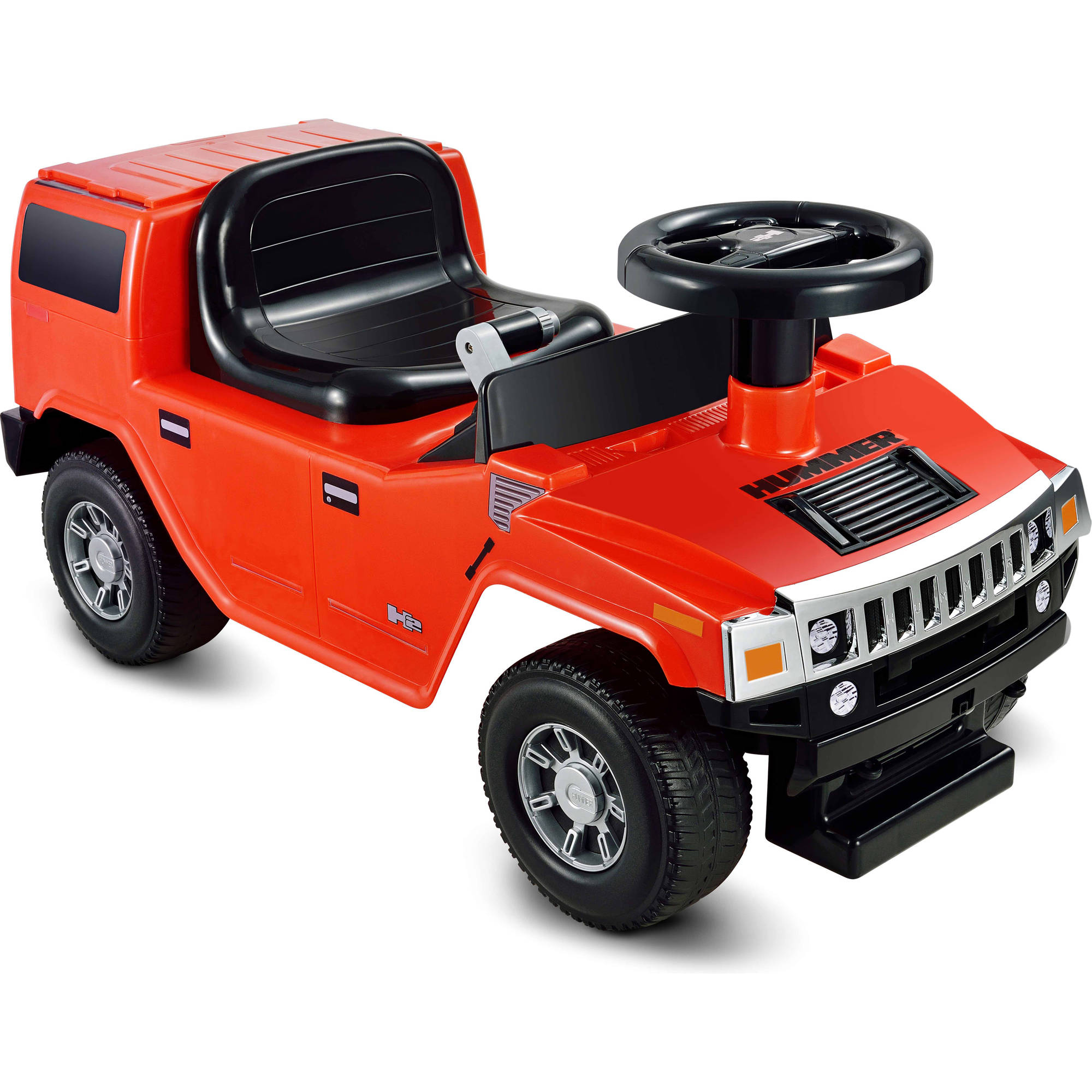Kid Motorz Hummer H2 Foot-to-Floor Ride-On, Red