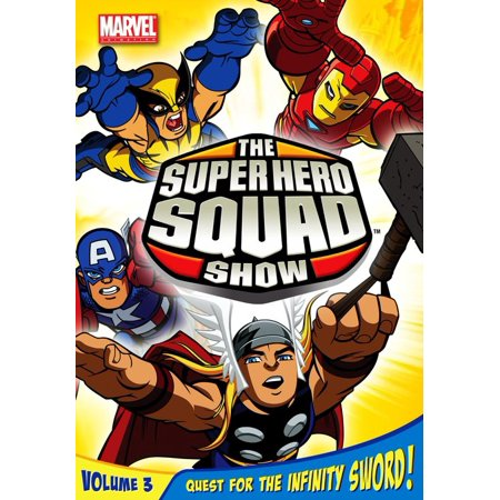 The Super Hero Squad Show : Quest for the Infinity Sword V. 3 & 4](Super Heroes Squad Show)