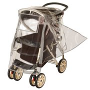 Jeep Premium Stroller Weather Shield, Clear