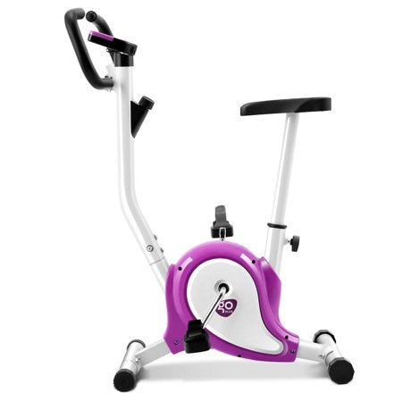 f1c8cbe9b4 Goplus Purple Upright Exercise Bike - Walmart.com