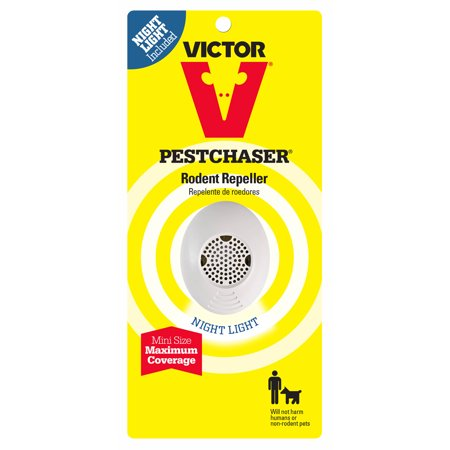 Victor Mini PestChaser Rodent Repeller with Nightlight