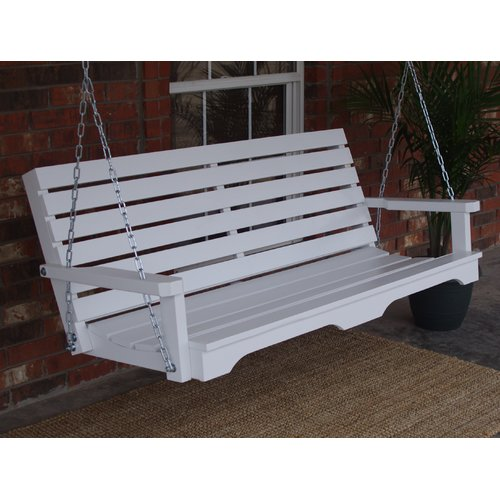 August Grove Bisantz Country Style Porch Swing