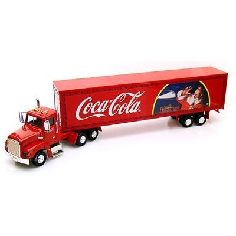 Coca-Cola Holiday Caravan with Light-up Trailer