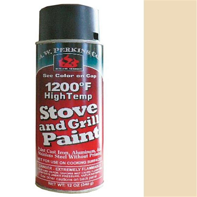 AW Perkins 92A 1200- Stove Paint - Spray in Almond