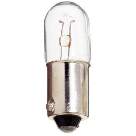 Miniature Bayonet (Satco S6917 4.76W 28V T3.25 Ba9S Bayonet Miniature light bulb)