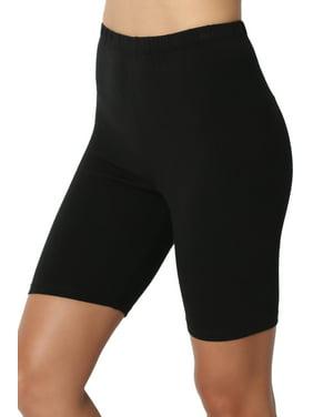 e0aebd9cbf732 Product Image TheMogan Women's S~3X Mid Thigh Stretch Cotton Active Bermuda  Under Short Leggings