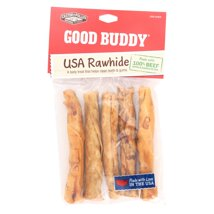 Dog Treats: Good Buddy Rawhide Sticks