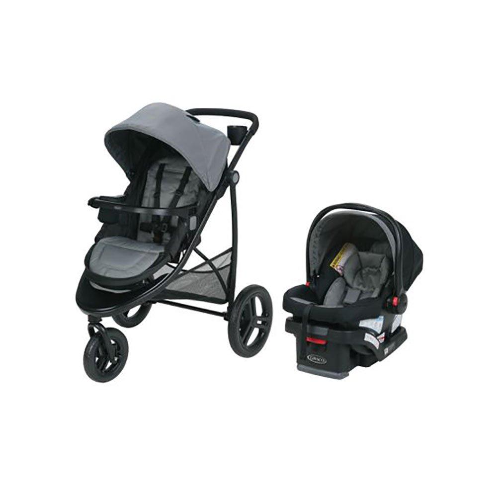 Graco Modes 3 Essentials LX Stroller & Baby Car Seat Lite Travel System, Palmer